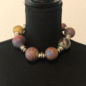 Jewelry - Unique, Colorful Hand Blown Glass Necklace